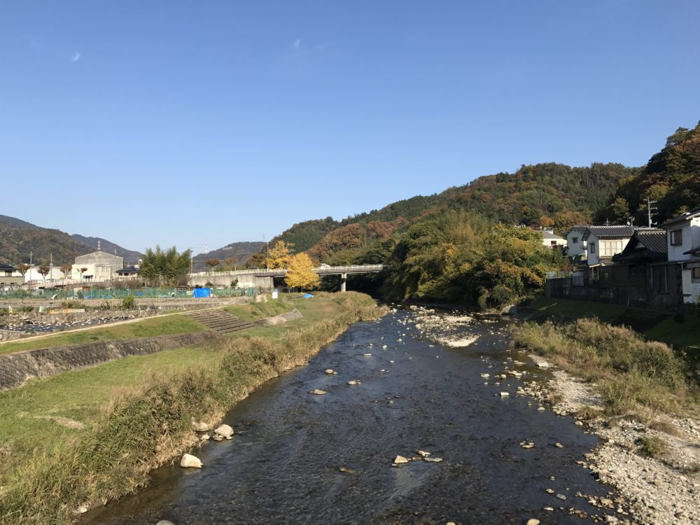 有楽橋の右手(東)へ上がると桐陽台団地