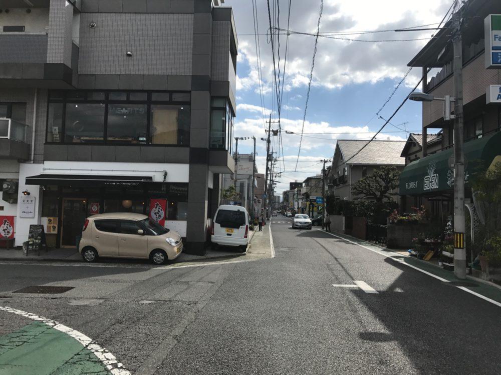 「高須」電停と宮島街道を結ぶ『高須通り商店街』