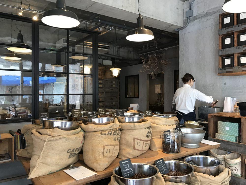 コーヒー専門店「マウントコーヒー」