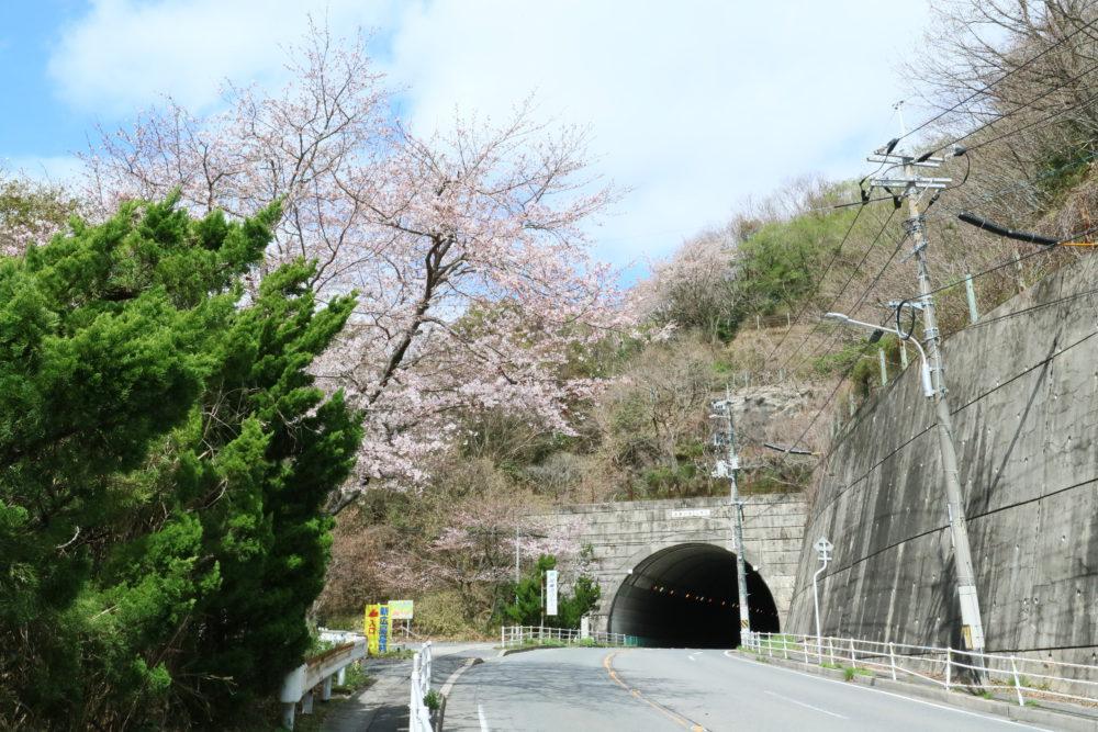 美鈴が丘トンネル前
